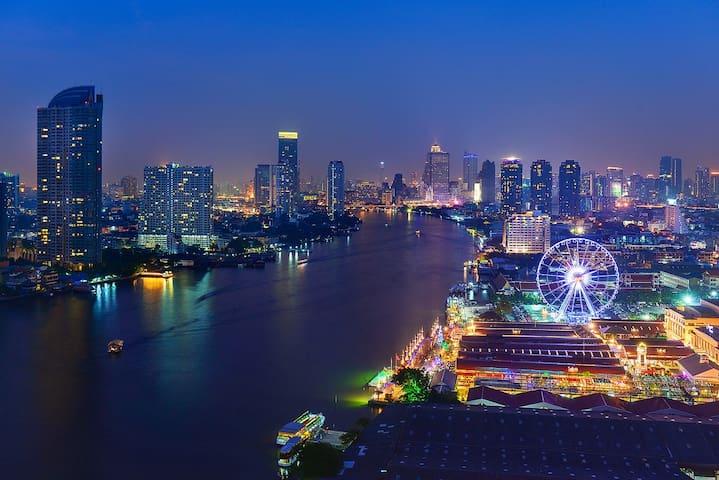 Gfeel*Central city close BTS Silom Line(17) - Bangkok - Apartamento
