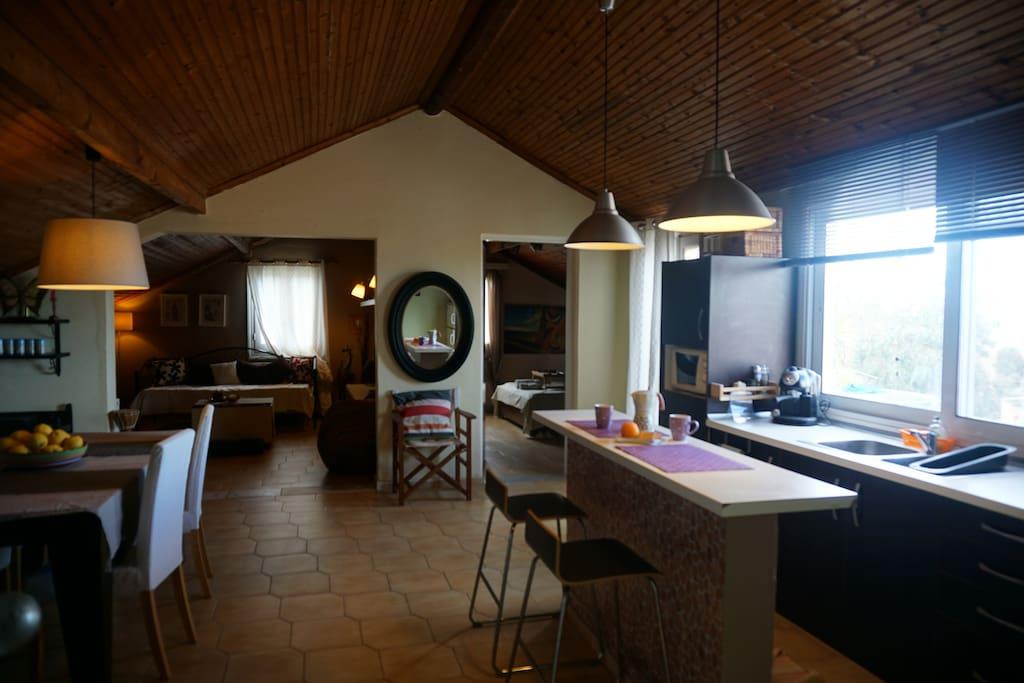 Acharavi Afrodite Loft Small interior