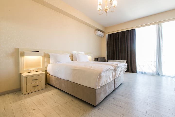 Deluxe Studio Apartment With balcony Second Type - Tbilisi - Byt