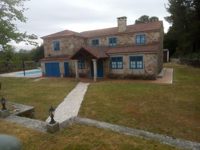 Preciosa casa rústica en muy bella región.