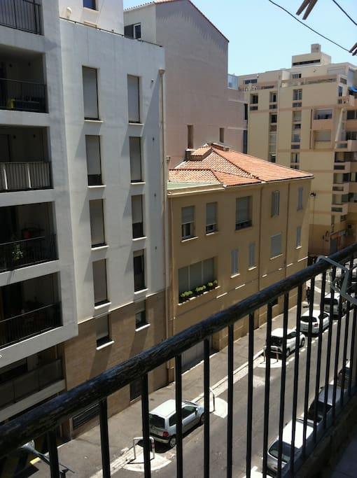 vue du 1er balcon