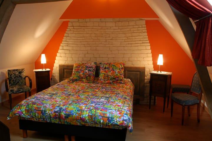 Le paty Gomez, chambres d'hôtes - Bouin-Plumoison - Rumah Tamu