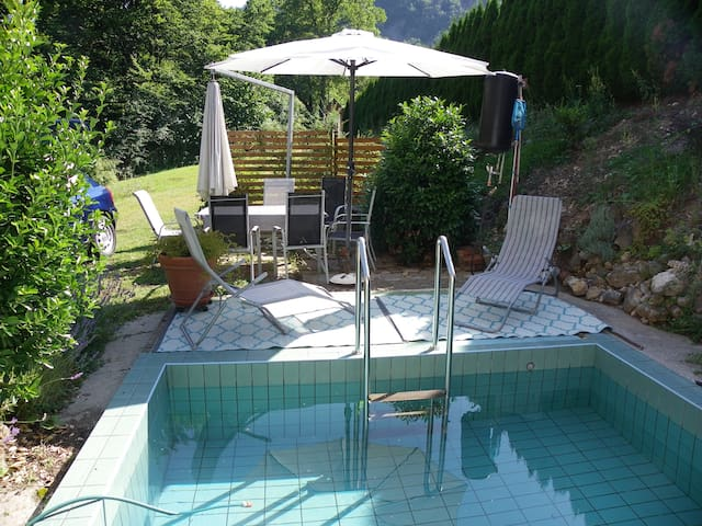 InGreen house - Tree root - with swimming pool