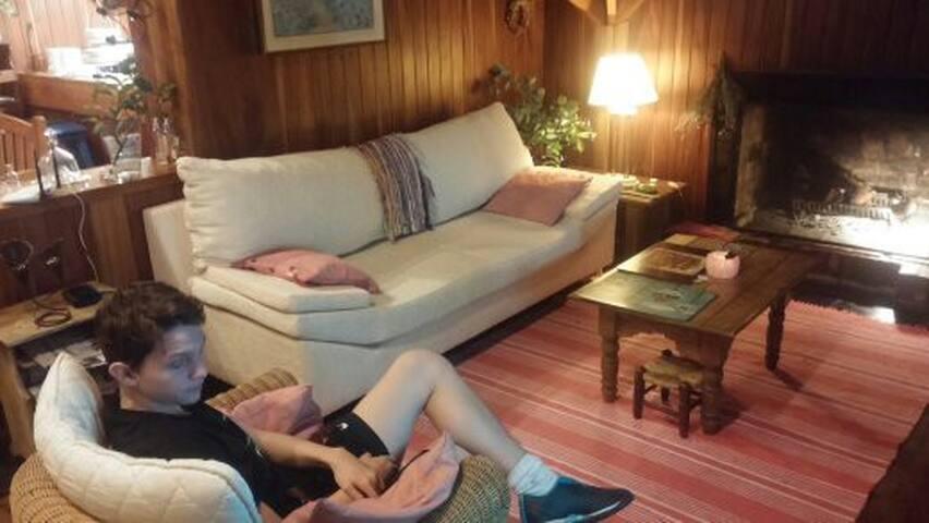 """Sillón para dormir una siesta o mirar una película cómodamente en el LCD de 32"""""""