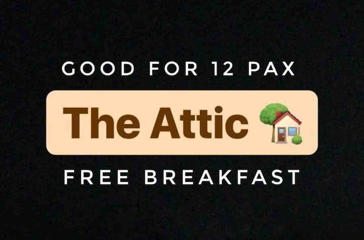 Attic-Riverside at Aninuan Accommodation and Food