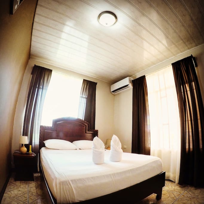 Room with Dimmable Led Lights