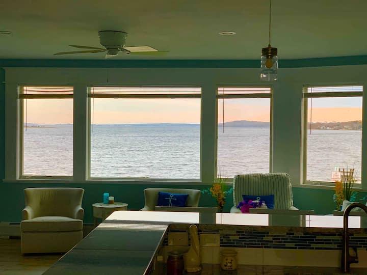 Cottage on Beach in South Coast Massachusetts