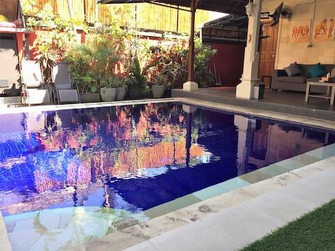 Villa Sunny in Seminyak $$ if more than 2 guests