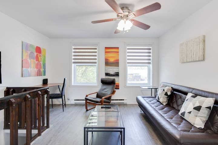 @1379 Downtown Montreal / Charming & Private Condo