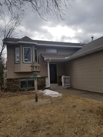 5 bedroom house, Blaine MN, fence, deck, USA cup