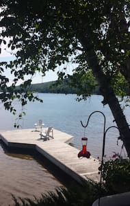 Cosy lakefront cottage amazing view - Baysville