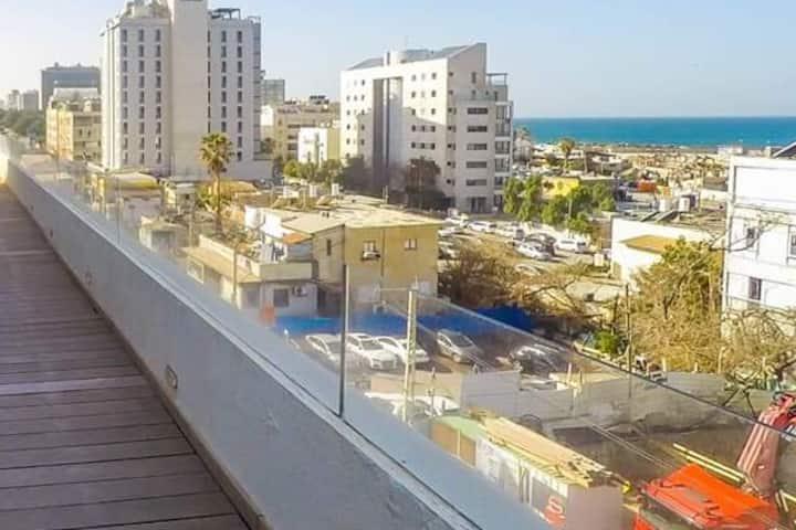 3br new apartmant at the port of tel aviv
