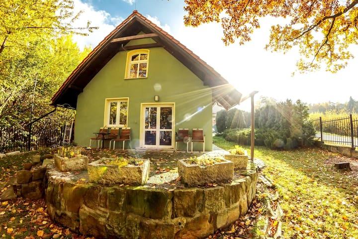 Domek z kominkiem w Polanicy Zdrój