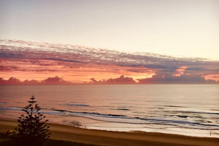 Broadbeach with ocean views from every room!