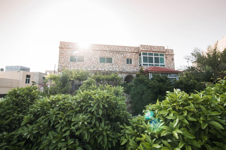 Beit Al Baraka. Bedroom 4 is located in the ground floor apartment.