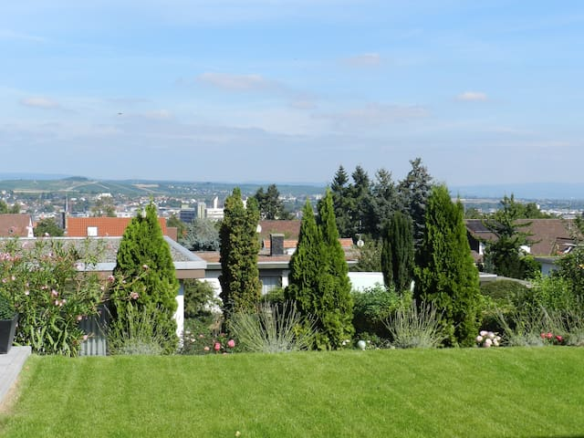 Komfort 2-ZKBT-Whg in Bad Kreuznach-Panorama-Blick - Bad Kreuznach - Apartment