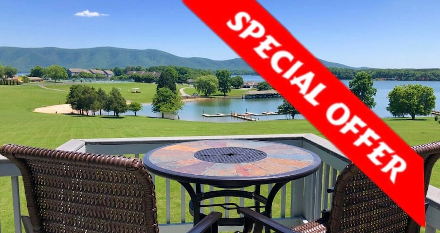 VOTED BEST LAKE VIEWS@BERNARDS LANDING*BOOK4FALL
