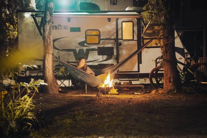 Experiência outdoor com o conforto de casa.