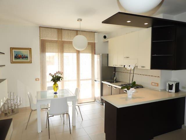 Трёхкомнатные апартаменты вблизи от моря - Quartucciu - Apartemen