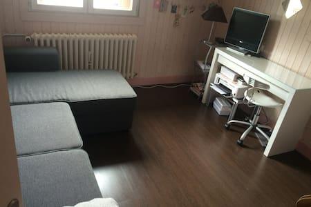 Chambres en petite montagne - Moirans-en-Montagne - Appartement
