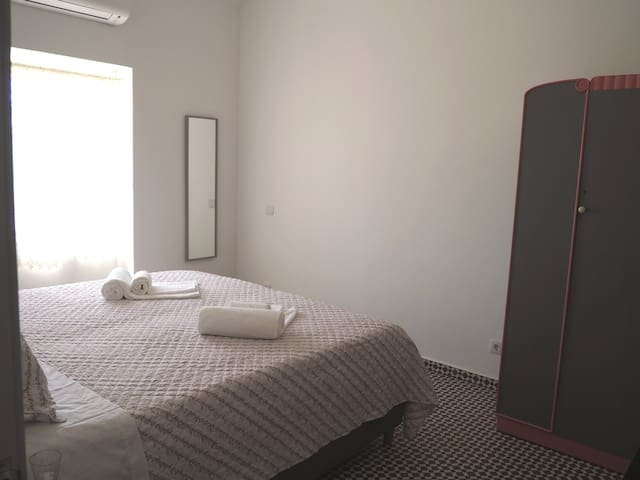 Large and beautiful bedroom with double bed. Could also be change to 2 single beds.