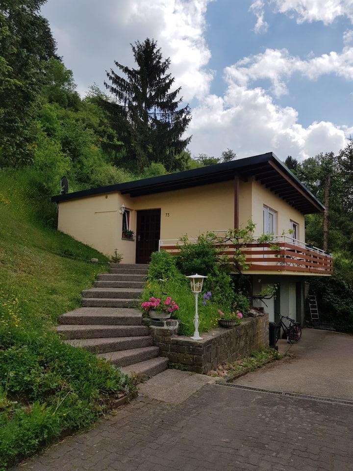 Ferienhaus Ourtalblick bei Vianden/Lux.