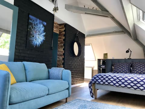 Apartment  52m2 atypical in Art Deco house