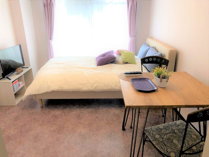 """Central Nagoya """"Lavender"""" Easy access to Airport"""