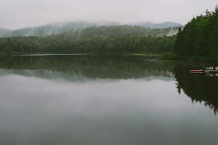 Rustic Cabin on Private Lake at Akwissasne - Northville - กระท่อม