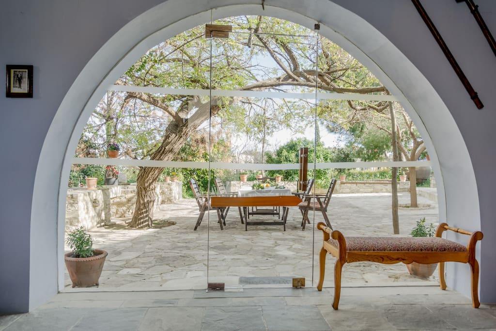 Orchard house garden kamara villas for rent in