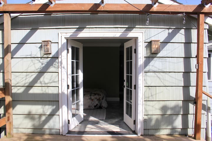 French Door Private Entrance