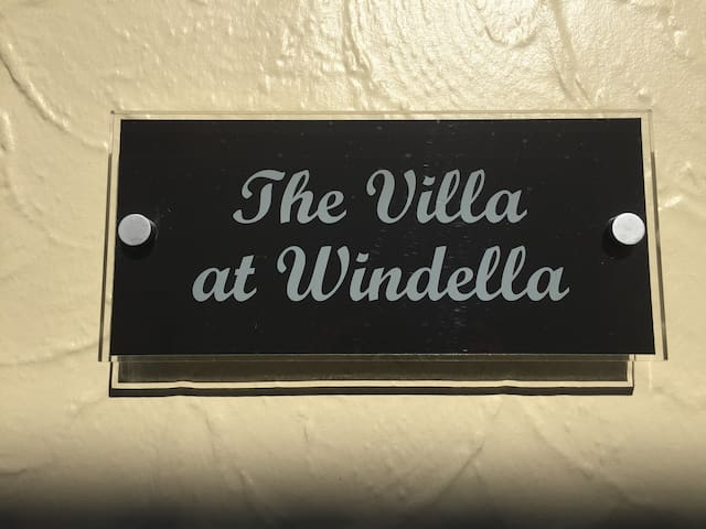 The Villa at Windella in the Hunter Valley