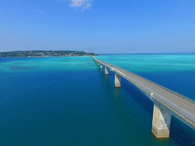 【NEW OPEN!】海と山と川。やんばるの大自然に囲まれたAirbnb*Copain* - Ōgimi-son, Kunigami-gun - Hus
