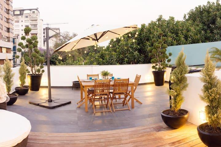 Big Penthouse and perfect terrace in Polanco! - Ciudad de México - Apartment