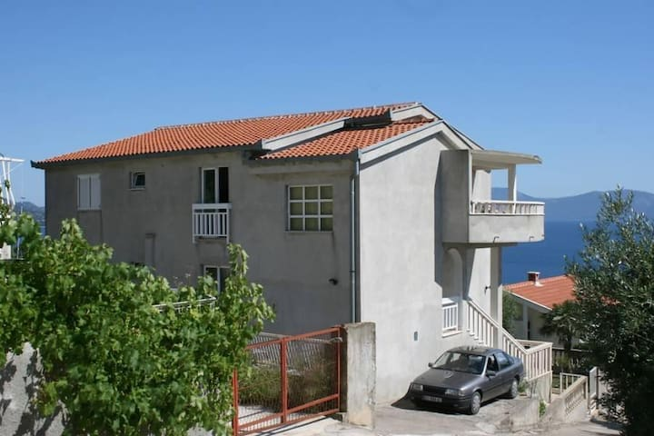 Studio flat with terrace and sea view Podaca, Makarska (AS-6736-b) - Podaca - Andre