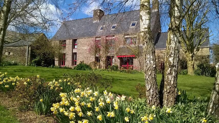 Gite à la ferme de Créac'h Gourles - Plouvorn - Wohnung