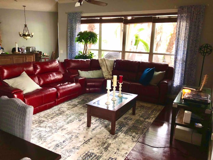Tropical (Wellington) Palm Beach County Home