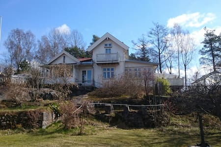 Spring by the Oslofjord - Fjellstrand - Casa