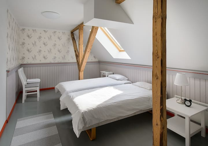 Guestroom for a group or family in a holidaycentre