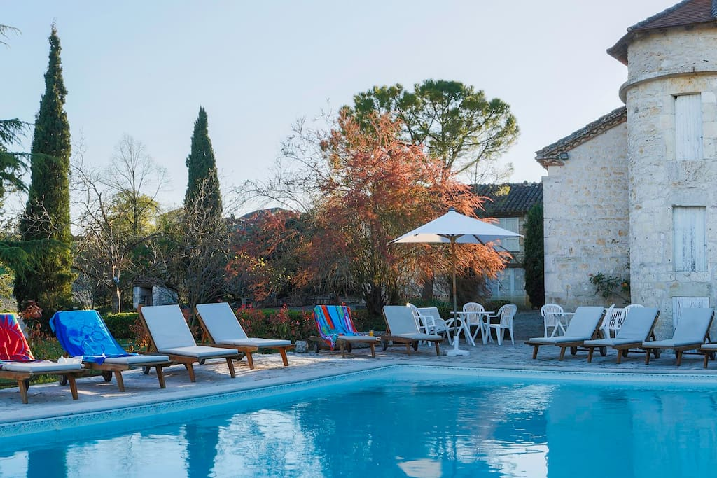 The 10m x 5m HEATED pool is a favourite, to be enjoyed from mid Spring to mid Autumn.