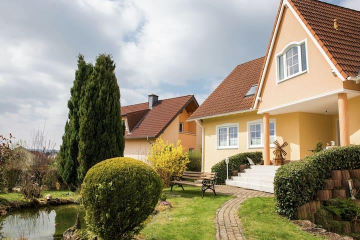 Tranquilo Apartamento en Gerolstein con un estanque