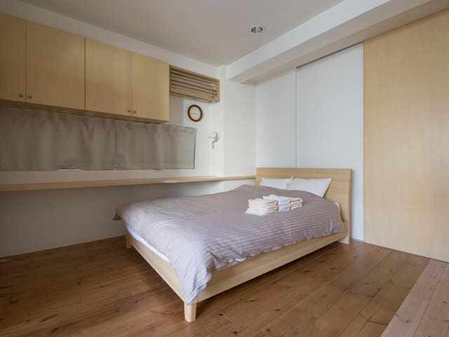 A3 3min to NAMBA=SHINSAIBASHI Minimalistic/cozy - Osaka - Apartment