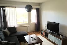 Two-room apartment(52m2), next to city center