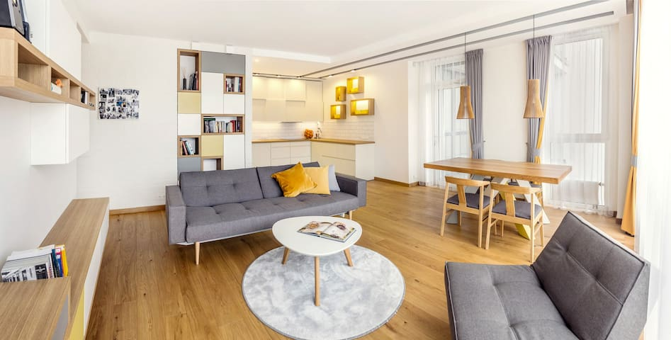 Private room + 2 bikes + breakfast - Vilnius - Apartamento