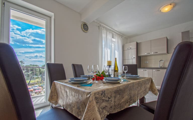 Apartment in city center of Crikvenica