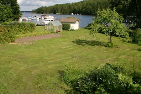 Savonlinna, Nice room, 2 beds , boat, swimming