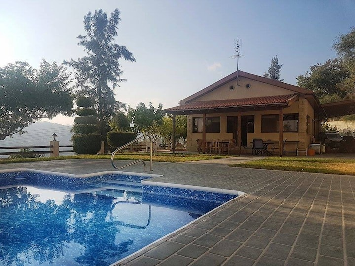 Mountain Top Villa with Pool