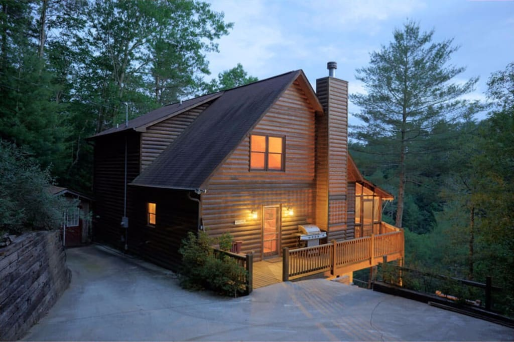 Kickback Creek Cabins For Rent In Ellijay Georgia