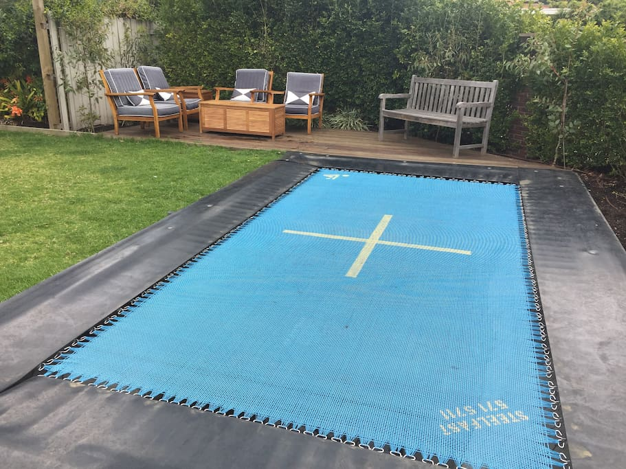 Trampoline Area (Olympic Size)