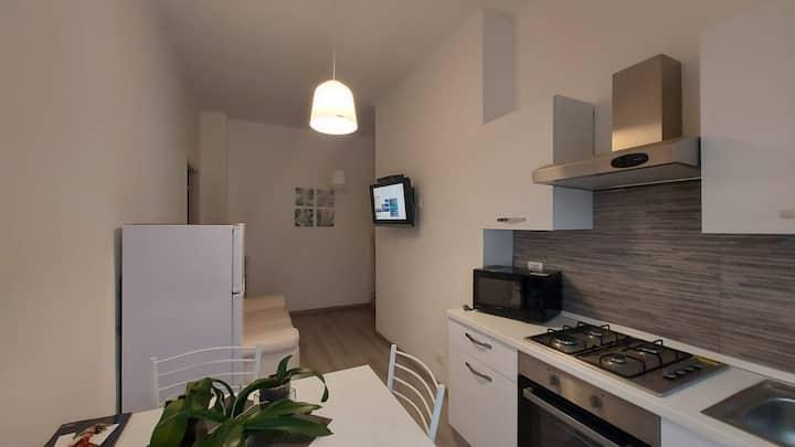 New Apartment fronte Thales Alenia 5 min Metro